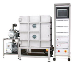 Plasma system TETRA-600-LF-PC, with trays, closed - plasma systems by diener electronic